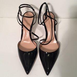 Gianvito Rossi Carlyle slingback heel